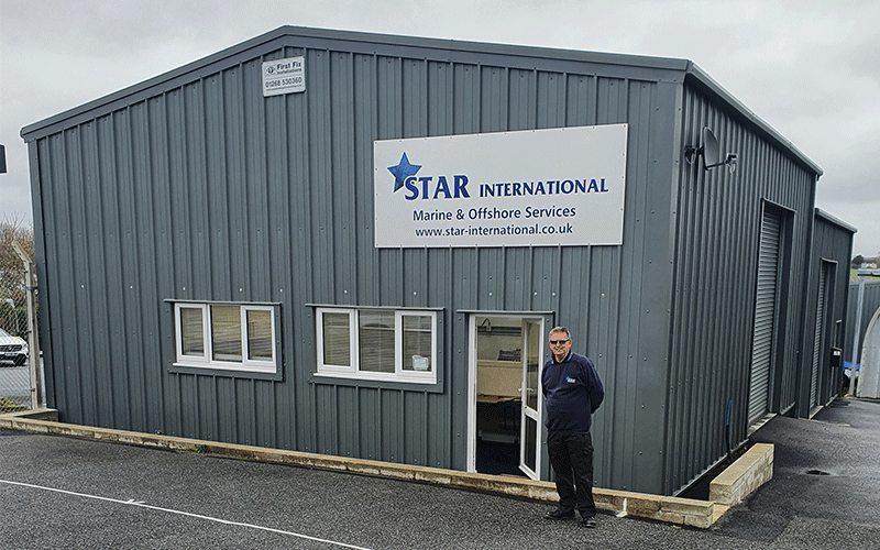 Star International's new Truro service centre