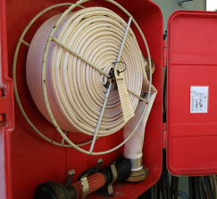 Fire hoses, couplings and accessories